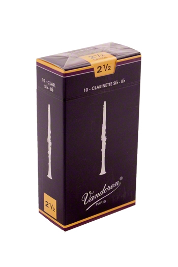 Vandoren Traditional Bb Clarinet Reeds