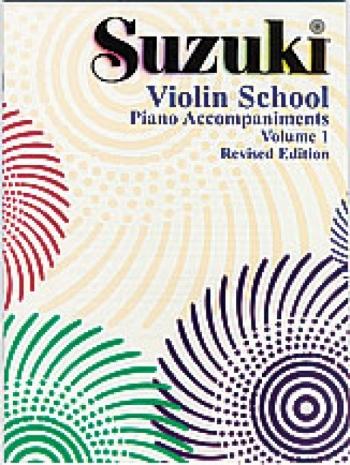 Suzuki Violin School, Vol 1: Piano Acc.