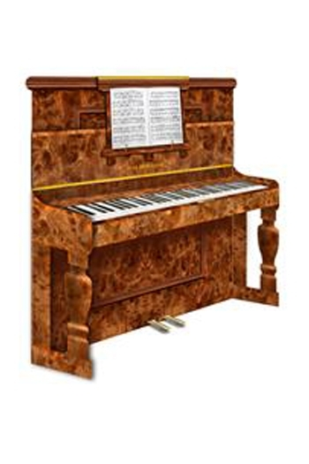 3D Card - Upright Piano