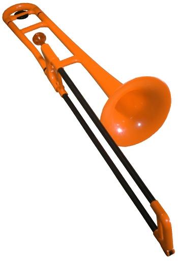 PBone trombone in orange