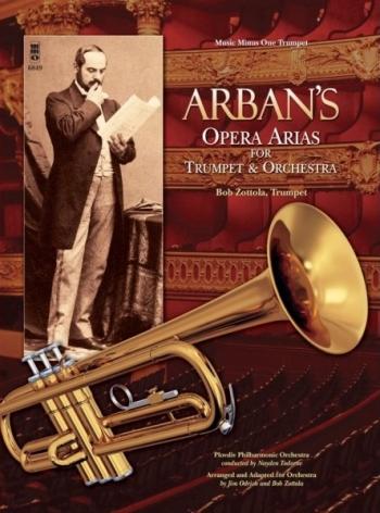 Music Minus One: Arban Opera Arias: Trumpet & Piano Bk&cd (mmo)