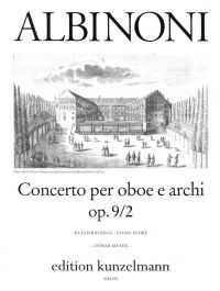 Albinoni : Concerto Op9: No2: Oboe  (Peters)