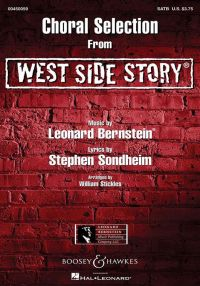 Bernstein : Choral Selection From West Side Story: Vocal: SATB