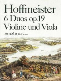 Hoffmeister : 6 Duos Op19: Viola and Violin