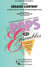 Greased Lightning: Saxophone Quartet: Score And Parts: Hal Leonard Pops For Ensembles