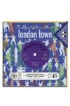 Gift- Card Flip Side 3D Record Card - London Town People