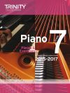 Trinity College Piano Examination Pieces And Exercises Piano Grade 7: 2015-2017