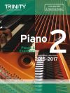 Trinity College Piano Examination Pieces And Exercises Piano Grade 2: 2015-2017  Book & CD