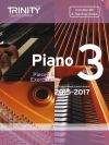Trinity College Piano Examination Pieces And Exercises Piano Grade 3: 2015-2017  Book & CD