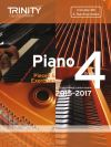 Trinity College Piano Examination Pieces And Exercises Piano Grade 4: 2015-2017  Book & CD
