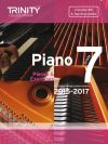 Trinity College Piano Examination Pieces And Exercises Piano Grade 7: 2015-2017  Book & CD