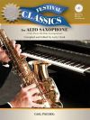 Festival Classics For Alto Sax: 21 Pieces Book & CD Includes MP3 Files And PDF Piano Accomp