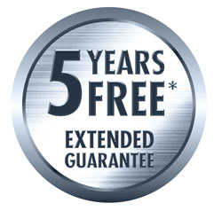 5 year extended guarantee