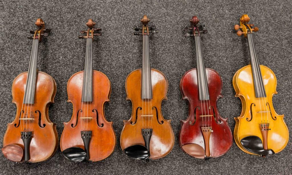 English violins