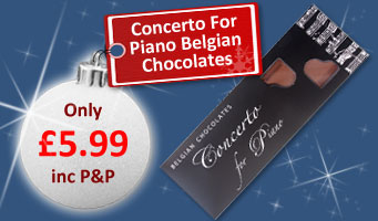 Concerto for piano belgian chocolates