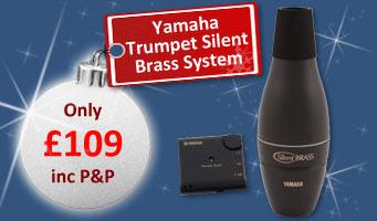 Yamaha Trumpet Silent Brass SB7-9