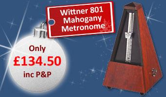 Wittner 801 mahogany metronome