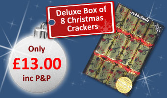 Deluxe Christmas crackers