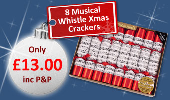 Whistle Christmas Crackers