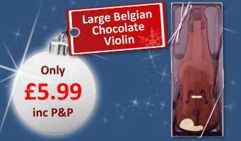 Belgian Chocolate Violin