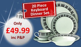 Keyboard Dinner Set