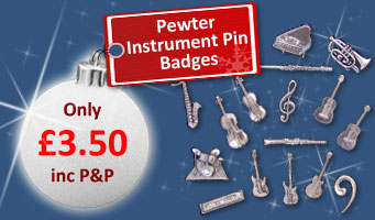 Pewter Pin Badges