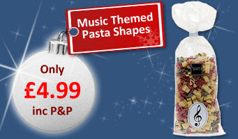 Music Pasta Shapes