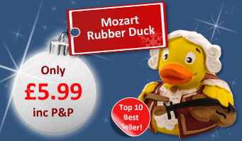 Mozart Rubber Duck