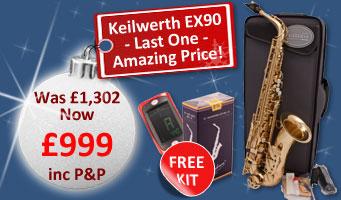 Keilwerth EX90 Alto Sax