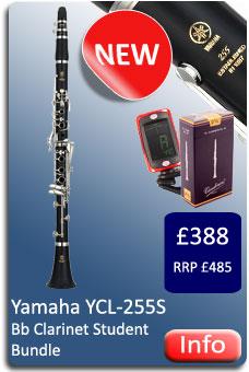 Yamaha YCL255S Bb Clarinet