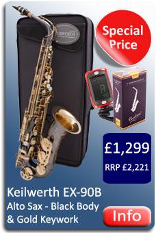 Keilwerth EX90B Alto Sax