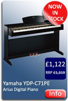 Yamaha YDP-C71PE Digital Piano