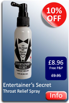 Entertainers Secret Throat Spray