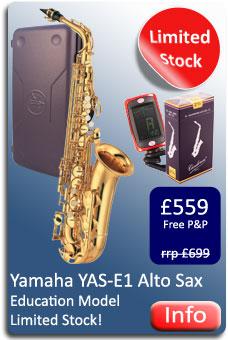 Yamaha YAS-E1 Alto Sax