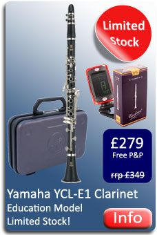 Yamaha YCL-E1 Clarinet
