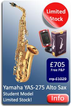 Yamaha YAS275 Alto Sax