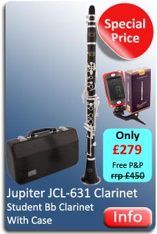 Jupiter JCL631 Clarinet