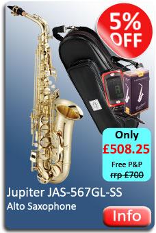 Jupiter JAS567 Alto Sax