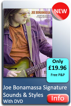Joe Bonamassa Sounds & Styles