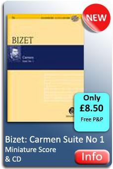 Bizet: Carmen: Minature Score