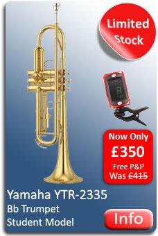Yamaha YTR-2335 Trumpet