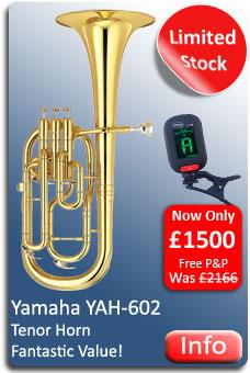 Yamaha YAH602 Tenor Horn