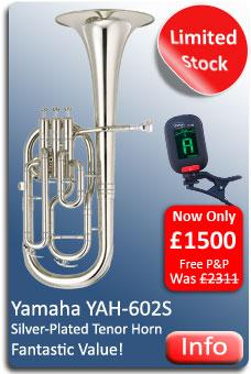 Yamaha YAH602S Tenor Horn