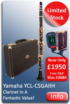 Yamaha YCL-CSGAH Clarinet