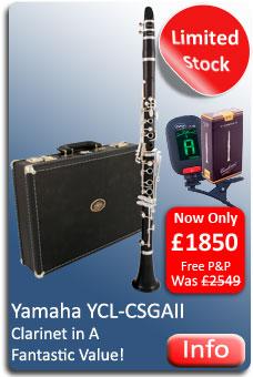 Yamaha YCL-CSGA Clarinet