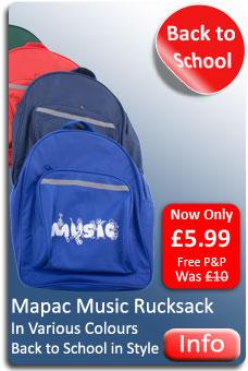 Mapac Music Rucksack