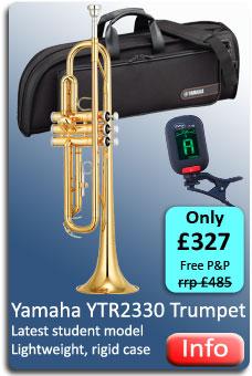 Yamaha YTR2330 Trumpet