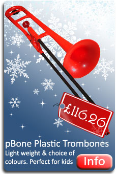 pBone Plastic Trombones