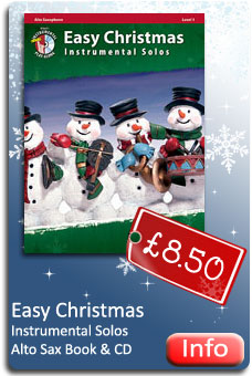 Easy Christmas Alto Sax