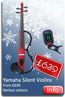 Yamaha Silent Violins